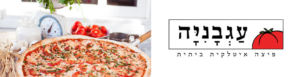 פיצה עגבניה - מגש משפחתי L + תוספות